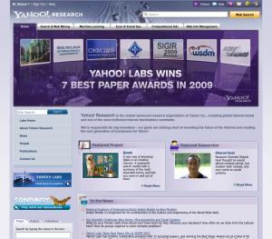 Yahoo Research